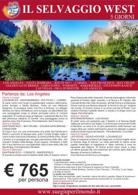 Offerte tour California