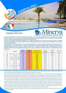 Minerva Resort Club estate 2021